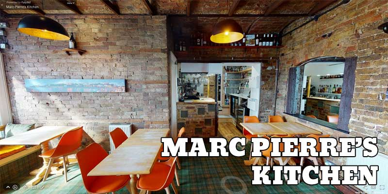Image of virtual tour of Marc-Pierre's Kitchen