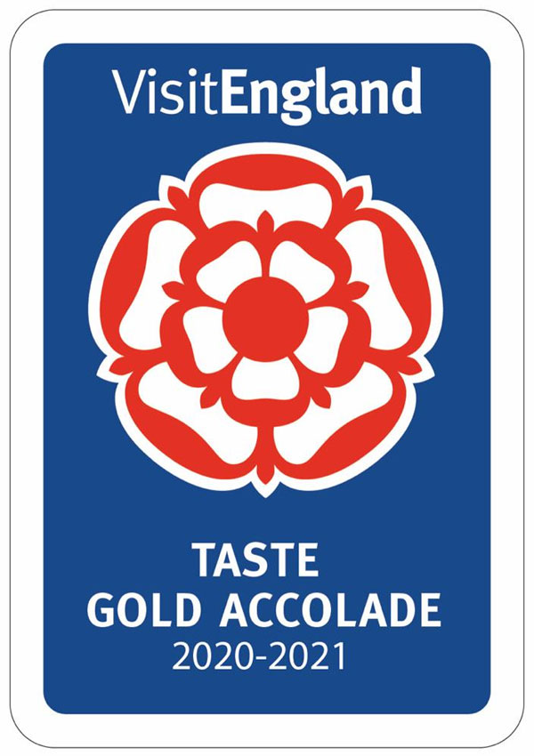 Image of Marc-Pierre's Kitchen's Visit England Taste Gold Accolade 2020-2021