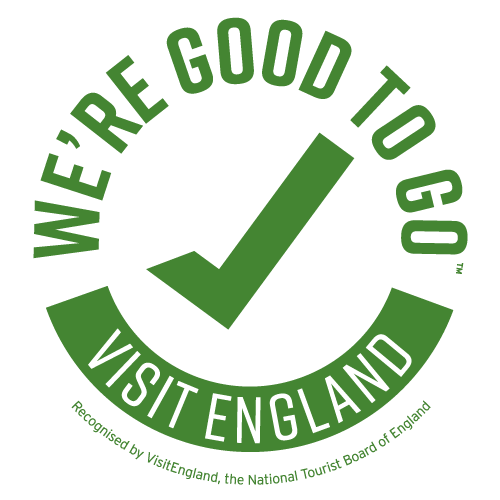 We're Good To Go logo from Visit England